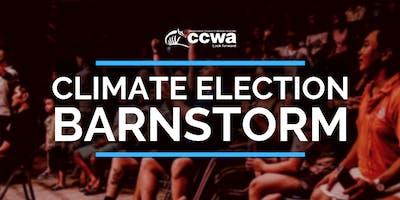 Climate Election Barnstorm
