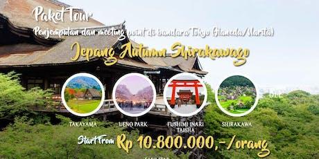 Paket Tour Jepang Autumn Shirakawa 7 Hari 6 Malam tickets