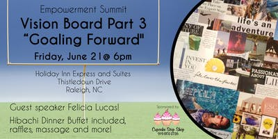 "Vision Board Part III ""Goaling Forward"""