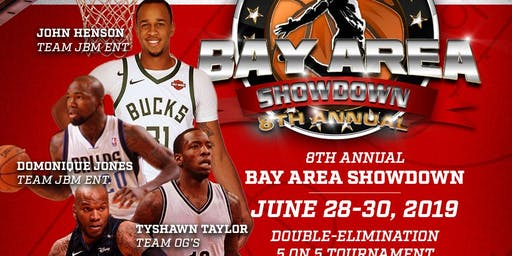 8th Annual Bay Area Showdown Pro Basketball Tournament