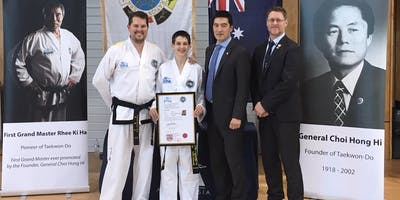 ITFA Queensland International Instructor Course & Colour Belt Seminar June 2019 (Taekwon-Do)