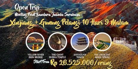 Open Trip Silk Road (Xinjiang + Gunung Pelangi) 10 Hari 9 Malam tickets