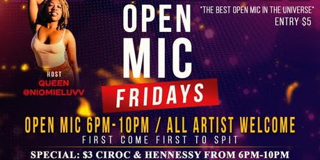 "THE BEST ""OPEN MIC"" IN THE UNIVERSE tickets"