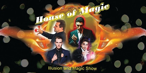 """ House of Magic"" Family & Adult Magic and Illusion Shows"