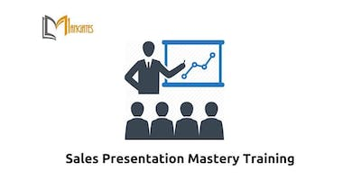 Sales Presentation Mastery Training in New York, NY on May 23rd-24th 2019