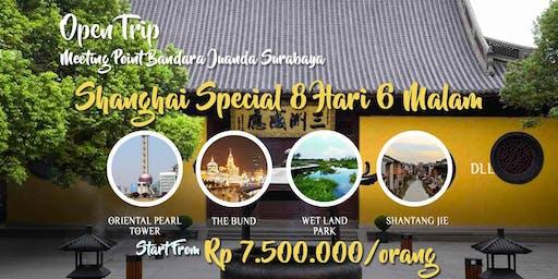 Open Trip Shanghai Murah 8 hari 6 malam