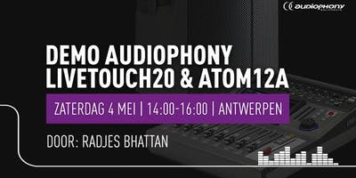 Demo Audiophony LIVEtouch20 en ATOM12A