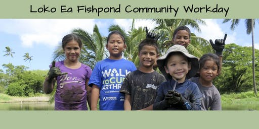 Loko Ea Fishpond Community Workday