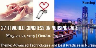 27th World Congress on  Nursing Care