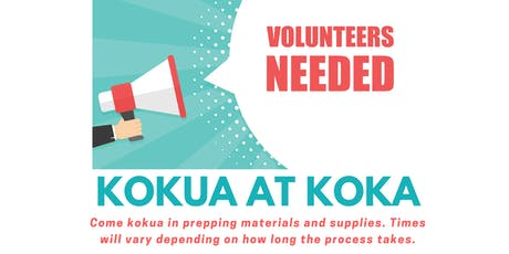 Kokua at KOKA tickets
