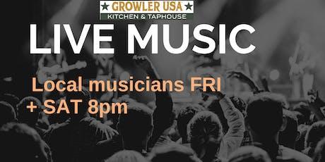 Live Music Fri & Sat @ GrowlerUSA  tickets