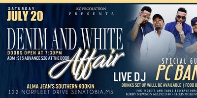 Denim & White Affair Starring The PC Band