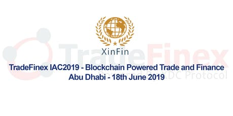 TradeFinex 2019 - Abu Dhabi - 18 June 2019. tickets
