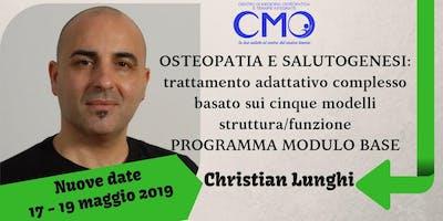 Osteopatia e Salutogenesi, modulo base con Christian Lunghi