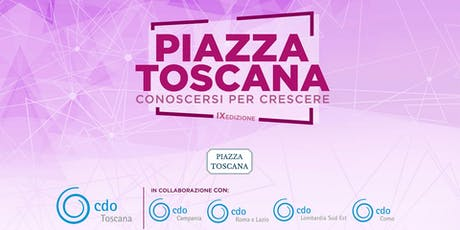 Piazza Toscana 2019 (www.piazzatoscana.org) biglietti