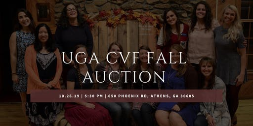 UGA CVF Fall Auction 2019