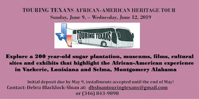 AFRICAN- AMERICAN HISTORIC SITES TOURS
