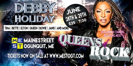 Debby Holiday Sings the Queens of Rock  tickets