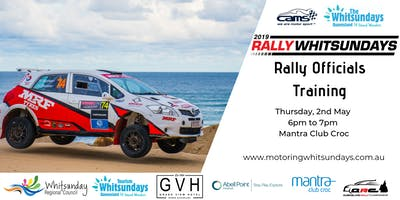 Rally Whitsunday Volunteer Officials Training
