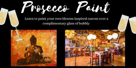 Prosecco and Paint- Paint your own buddha  tickets