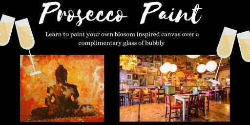 Prosecco and Paint- Paint your own buddha