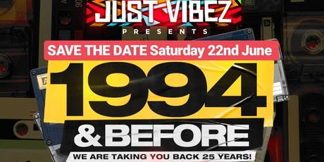 1994 and before! THE OLD SCHOOL PARTY! tickets