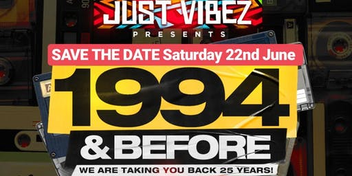 1994 and before! THE OLD SCHOOL PARTY!
