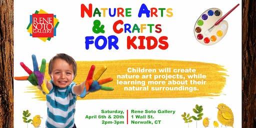 Nature Arts & Crafts for Kids