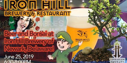 Beer and Bonsai at Iron Hill Brewery - Newark