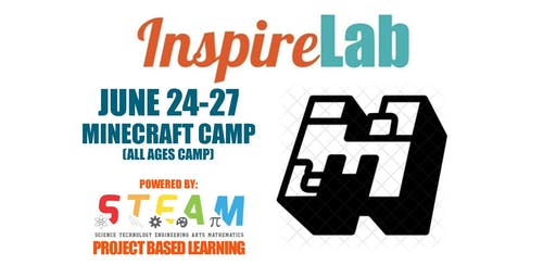 Summer 2019: Minecraft Camp (All ages camp)