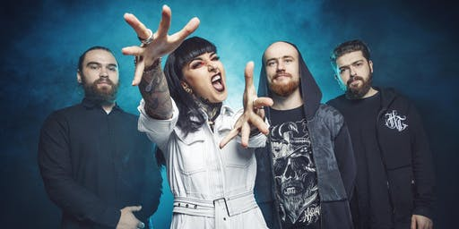 Jinjer with The Browning and SUMO CYCO With sg: Phoenix Curse