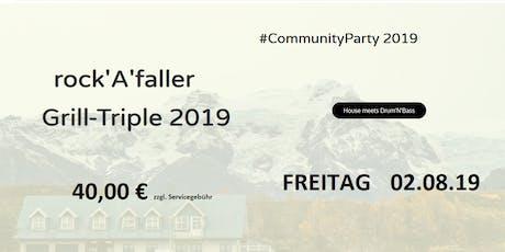 rockAfaller Grill-Triple 2019 Tickets