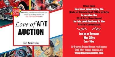 Love of ART Auction & Anniversary Celebration