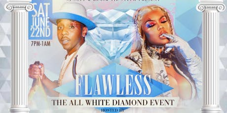 """FLAWLESS"" THE  ALL WHITE DIAMOND EVENT tickets"