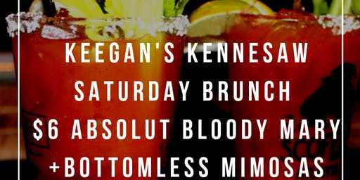Kennesaw Saturday Brunch at Keegan's Public House