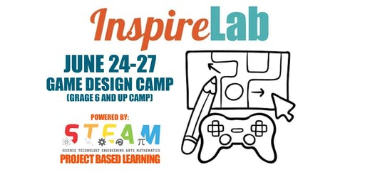 Summer 2019: Game Design Camp (Grade 6 and up)