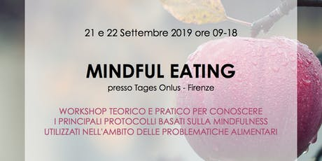 "Workshop professionale: ""Mindful Eating"" biglietti"