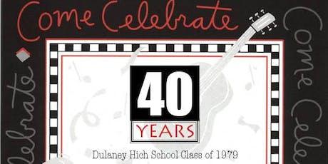 1979 Dulaney  Reunion tickets