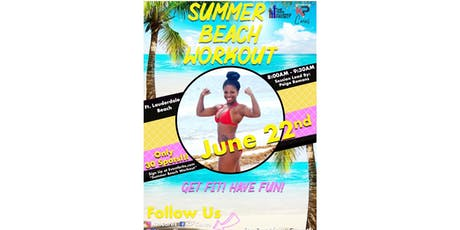 Summer Beach Workout tickets