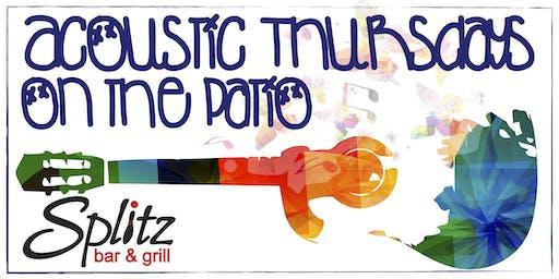 Acoustic Thursdays on the Patio at Splitz Bar & Grill