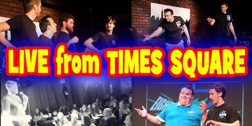 EIGHT IS NEVER ENOUGH Improv LIVE from  LOL Times Square