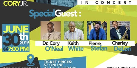 Cory Jr. and The Fellas in Concert tickets