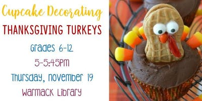 Cupcake Decorating Warmack Library - TEEN PROGRAM