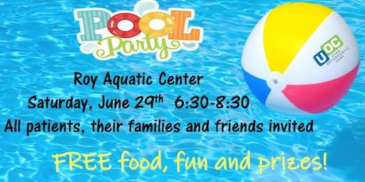 Roy Aquatic Center UOC Patient Appreciation Pool Party