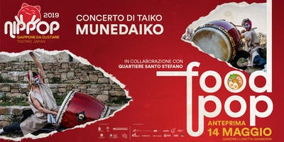 NipPop 2019 - Anteprima: Munedaiko, Concerto di taiko