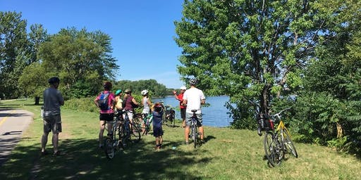 À la vélo-découverte du Parcours Gouin