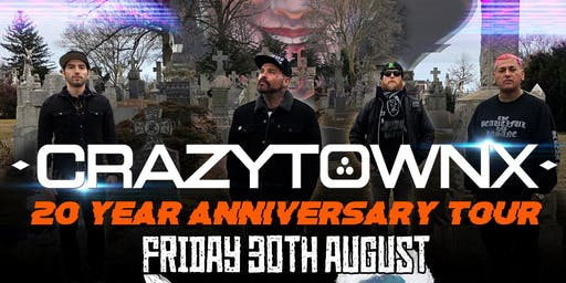 Crazy Town - 20th Anniversary - The Hairy Dog, Derby