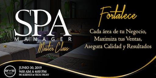 SPA MANAGER Master Class (segunda edición)