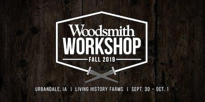 Woodsmith Fall Workshop 2019