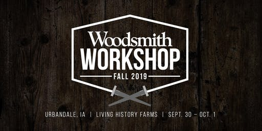 Woodsmith Fall Workshop 2019